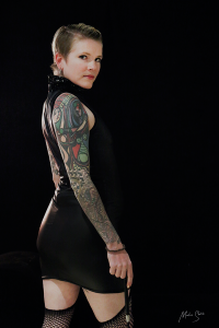 muse fontaine tattooed model